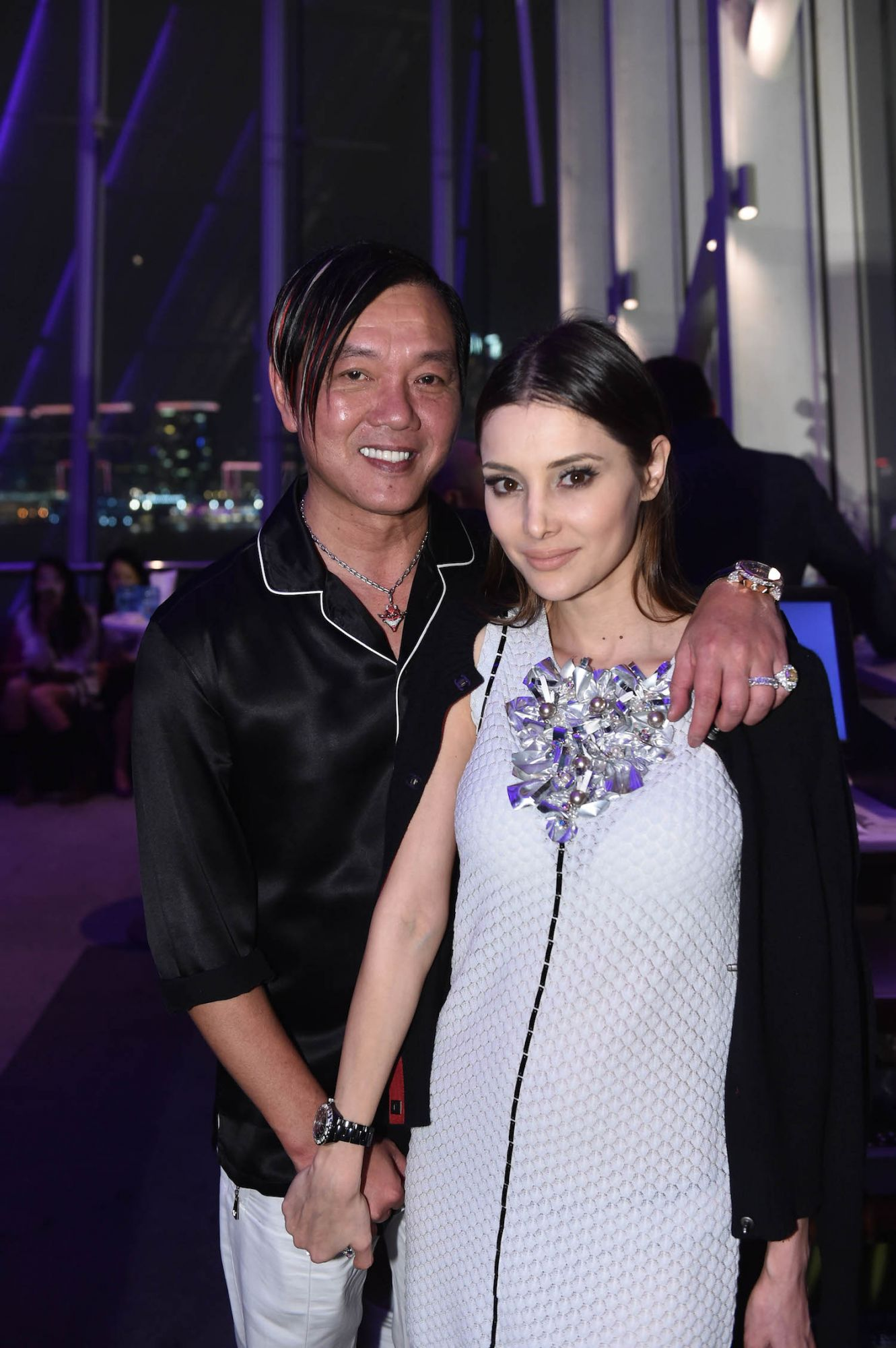Stephen and Deborah Hung
