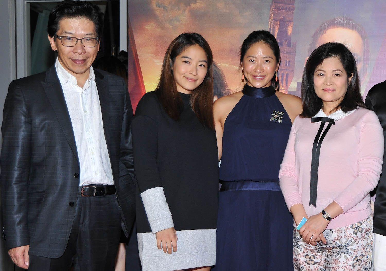 Tony Hwang, Charlotte Hwang, Robin Hwang and Vanessa Hwang