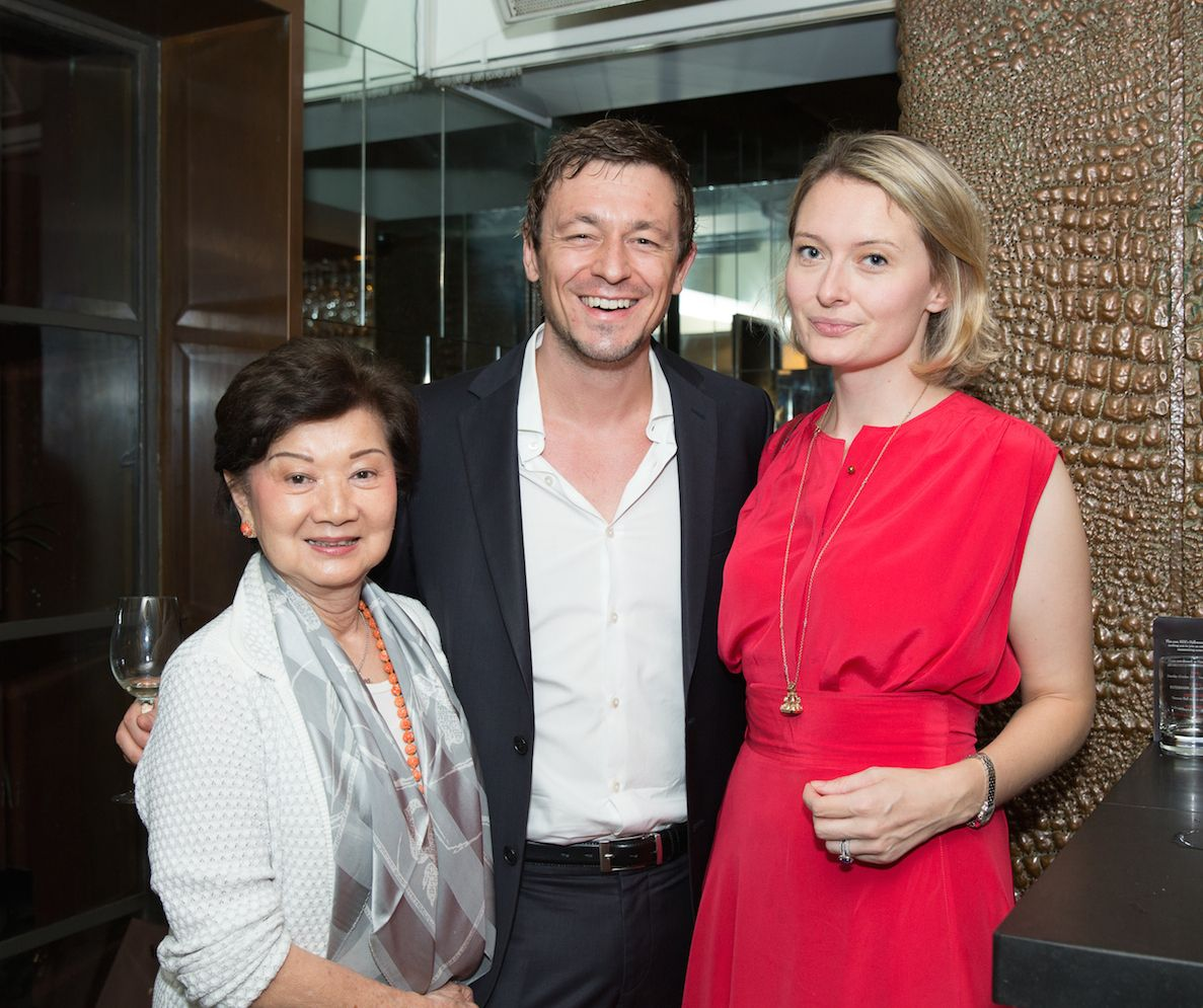 Yvonne Ip, Lars Rottman and Victoria Astor