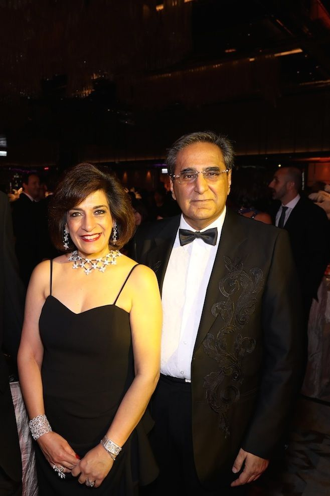 Avisha and David Harilela