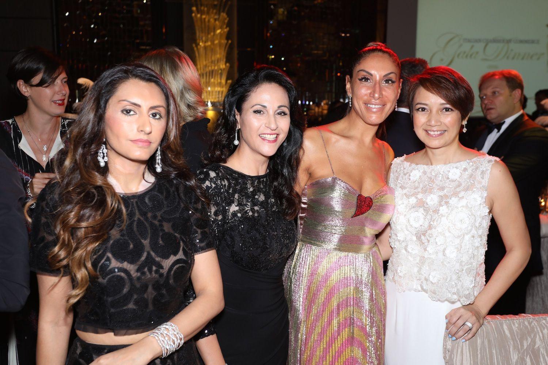 Amishi Sani, Mahnaz Lee, Miriam De Riu and Winnie Young
