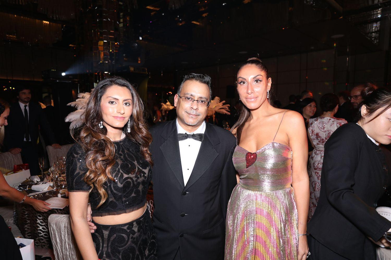 Amishi and Sudesh Sani and Miriam De Riu