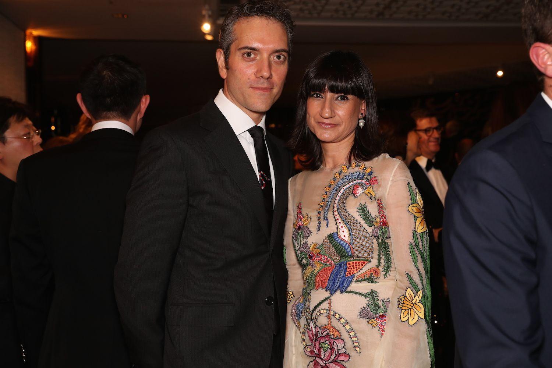 Gianfilippo and Manuela Testa