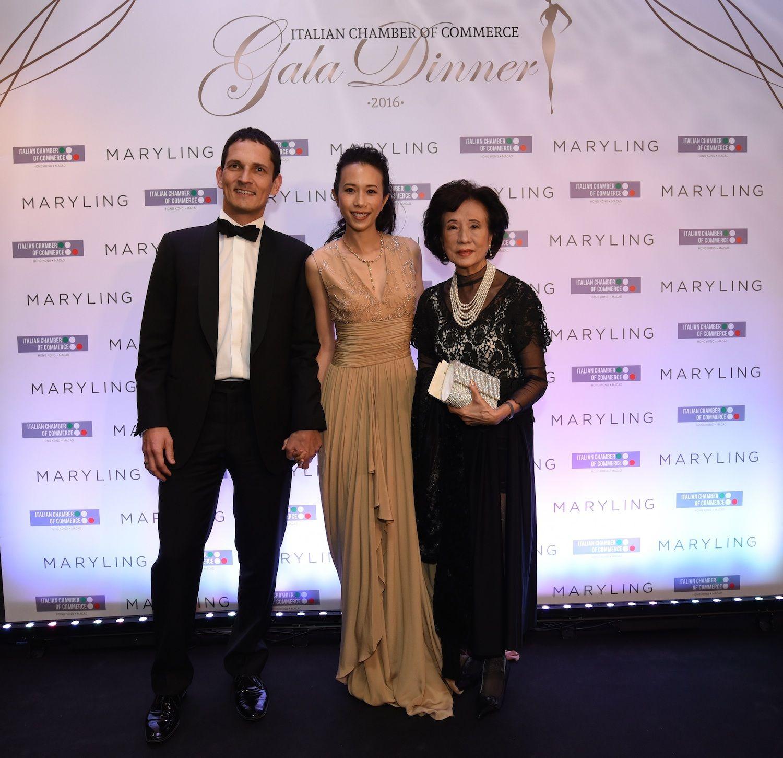 Johannes Natterer, Karen Mok and Eleanor Morris