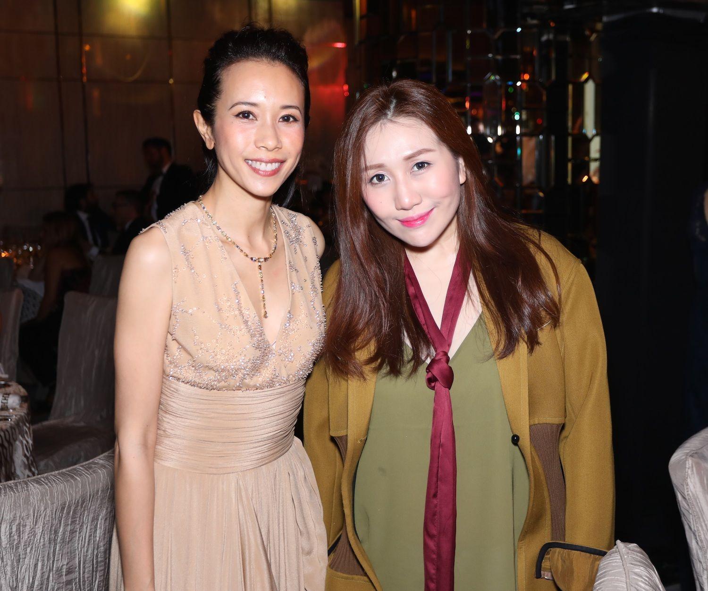 Karen Mok and Sabrina Ho