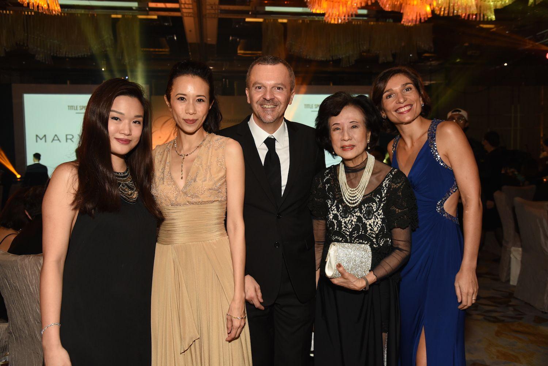 Queenie Rosita Law, Karen Mok, Antonello De Riu, Eleanor Morris and Sarah Negro