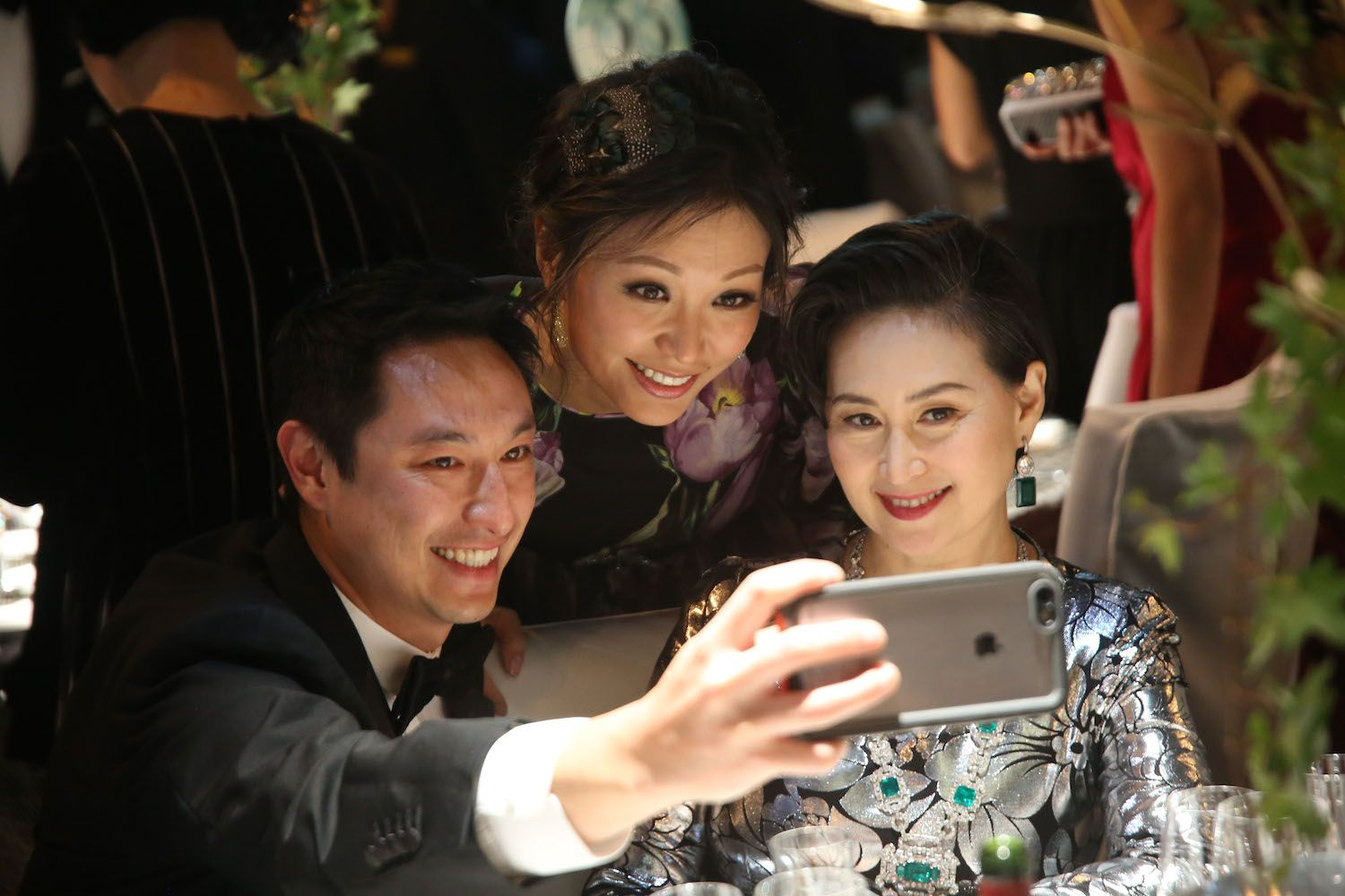 Alan Chan, Michelle Cheng-Chan and Pansy Ho