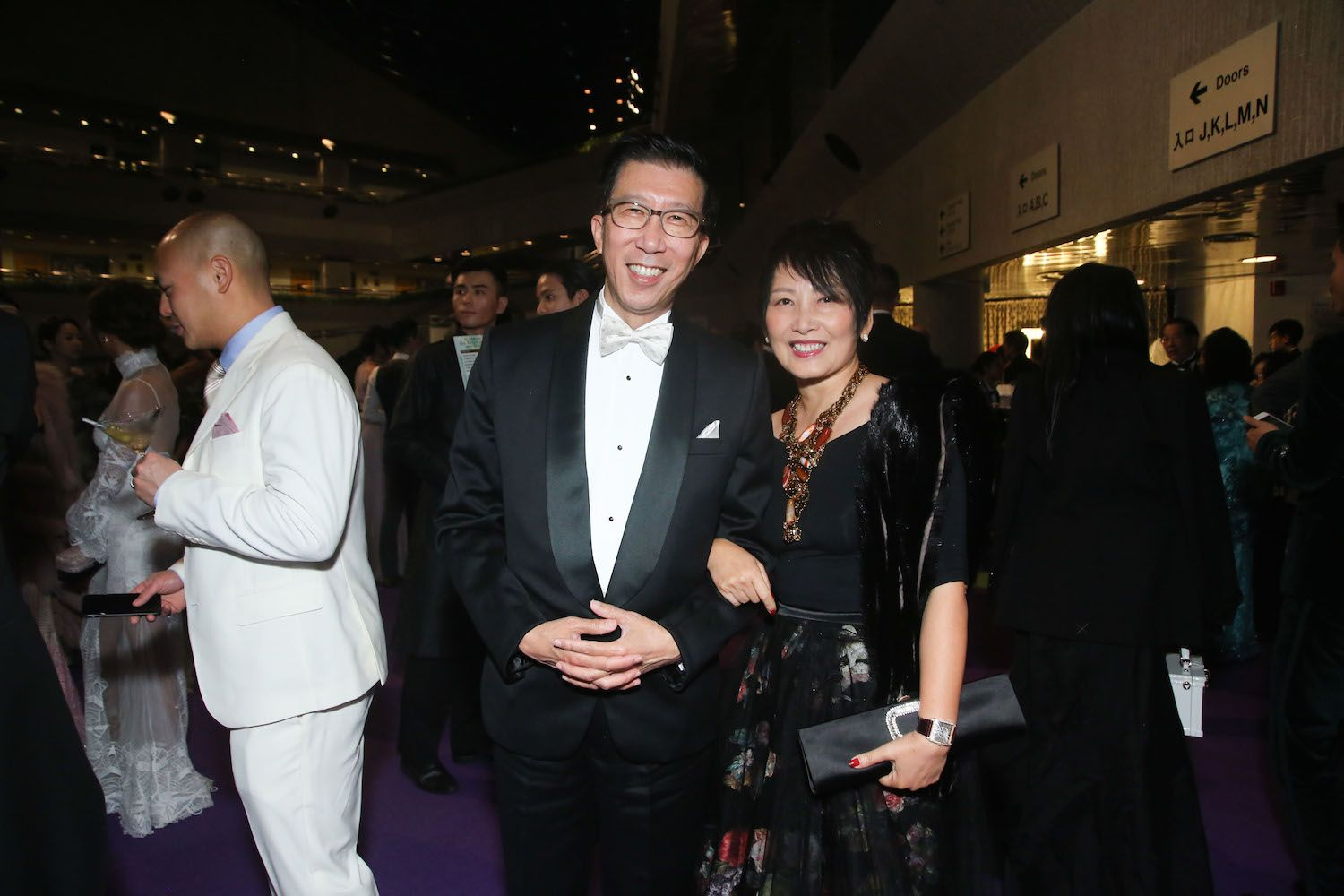 Michael and Pauline Chan