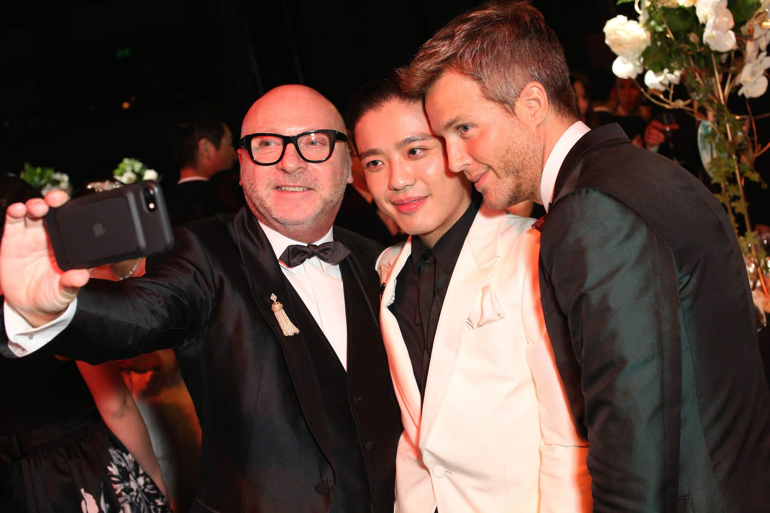 Domenico Dolce, Jonathan Cheung and Guilherme Siqueira