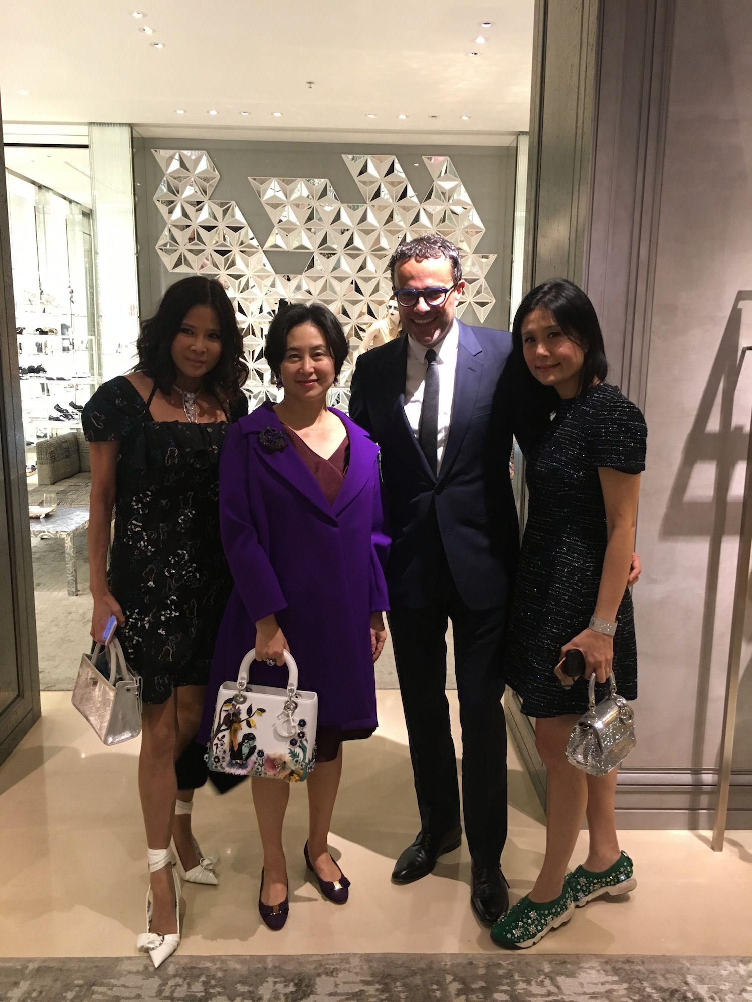 Dior S Private Holiday Dinner The Upper House Hong