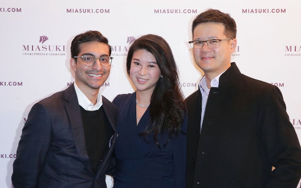 Roni Hiranand, Christy and Benjamin Liang