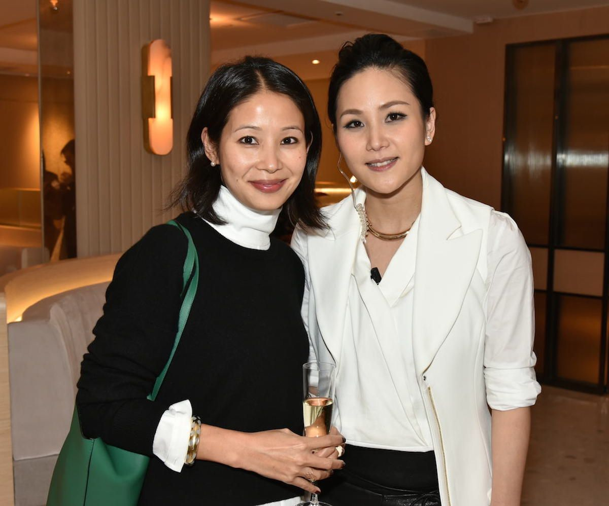 Lynn Fung And Vicky Lau