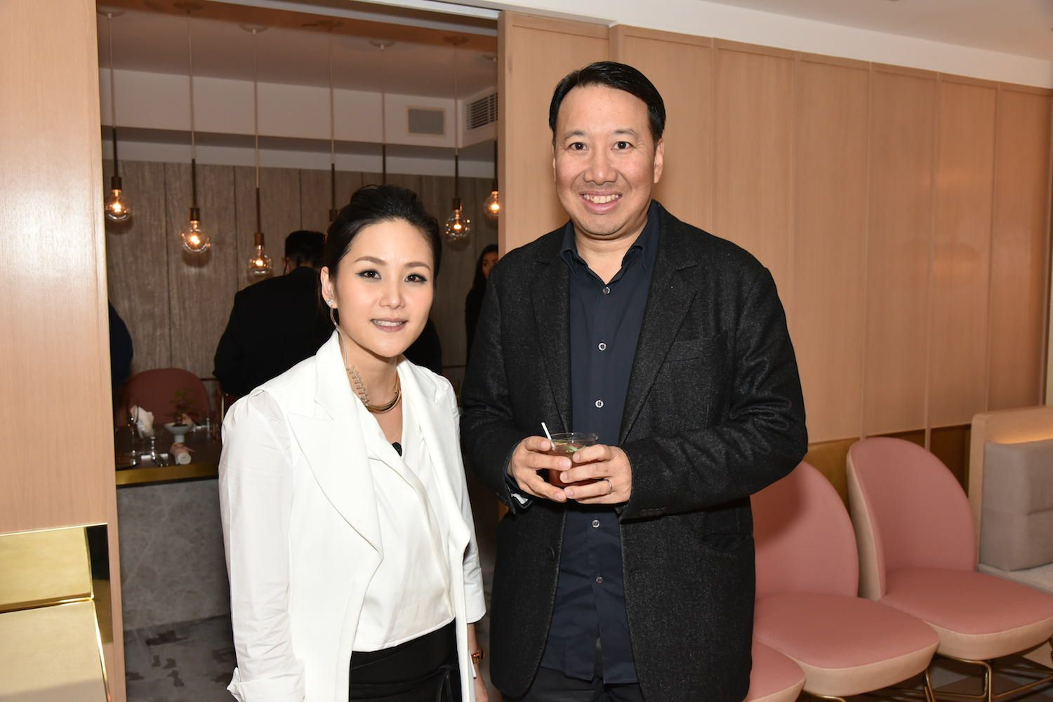 Vicky Lau And Derrick Fung