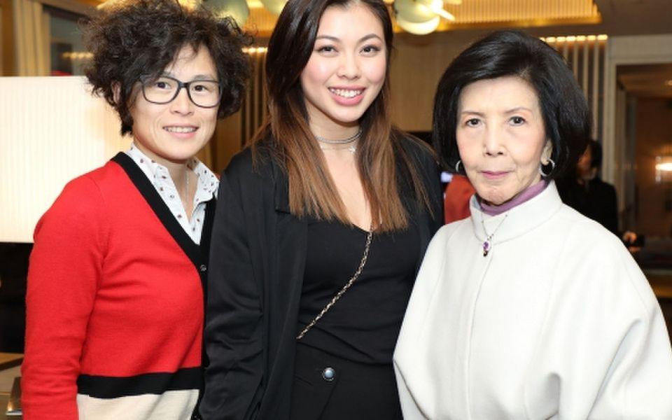 Gigi Chao, Kayla Wong and Margaery Au