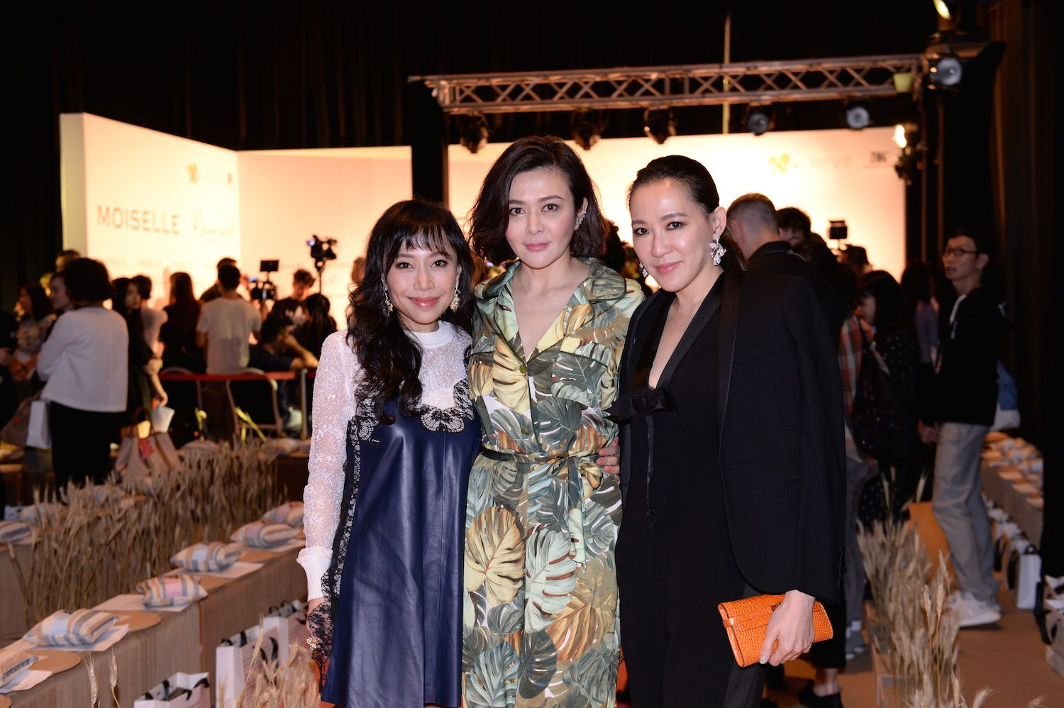 Emily Chan, Rosamund Kwan and Cindy Chao