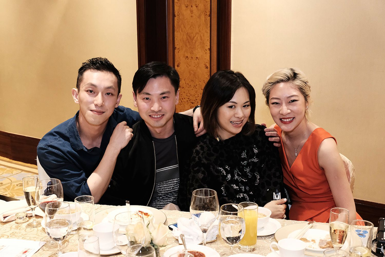 Harris Chan, Honus Tandijono, Michelle Kwok and Yvonne Fong
