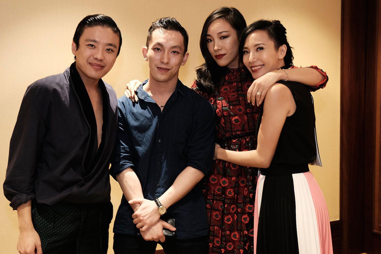 Jonathan Cheung, Harris Chan, Feiping Chang and Jaime Ku