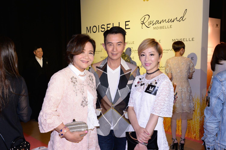 Sue-Lynn Woo-Hwa, Charles Yang and Lily Li