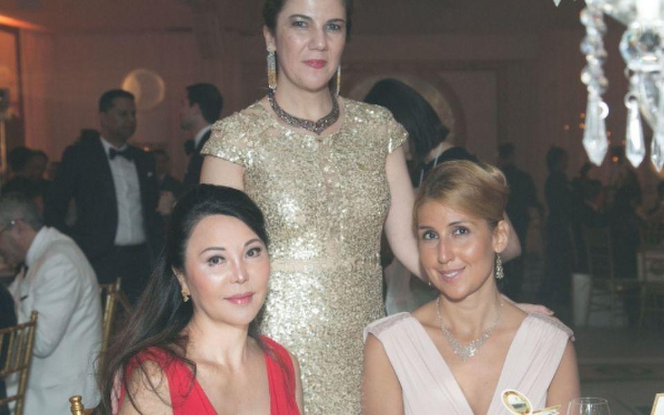 Yumi Honda, Janana Suleymanli Pasha and Ayten Mirzoyeva