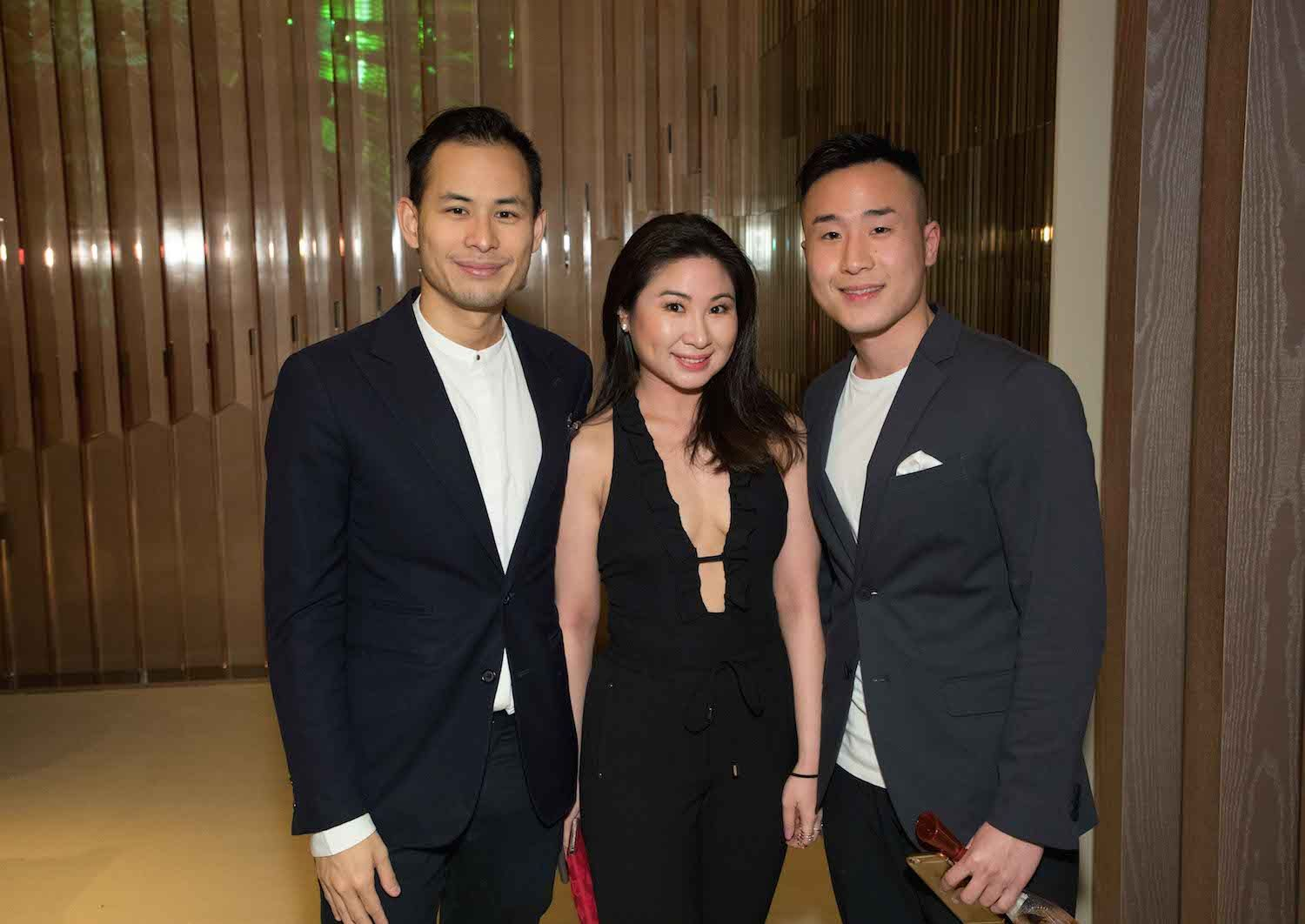 Alex Yeung and Gloria and Kenny Lo