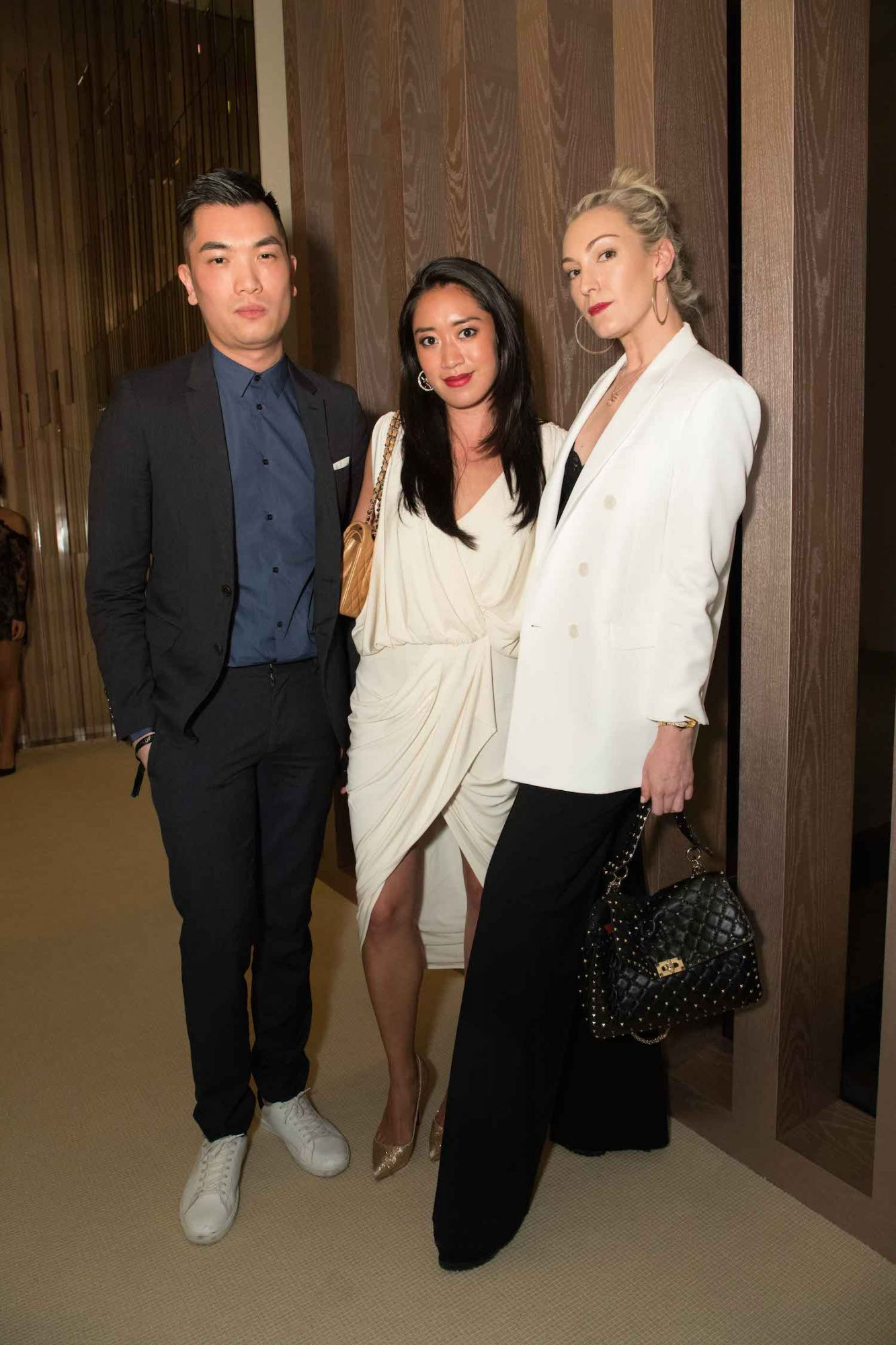 Justin Ng, Antonia Da Cruz and Olivia Croucher Buckingham