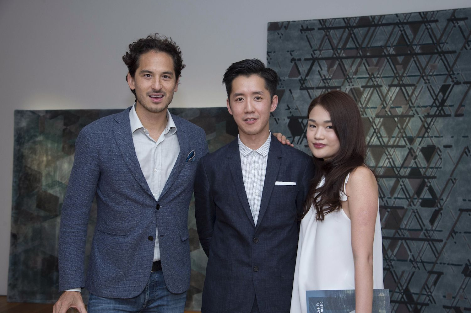 Sean Lee-Davies, André Fu and Queenie Rosita Law