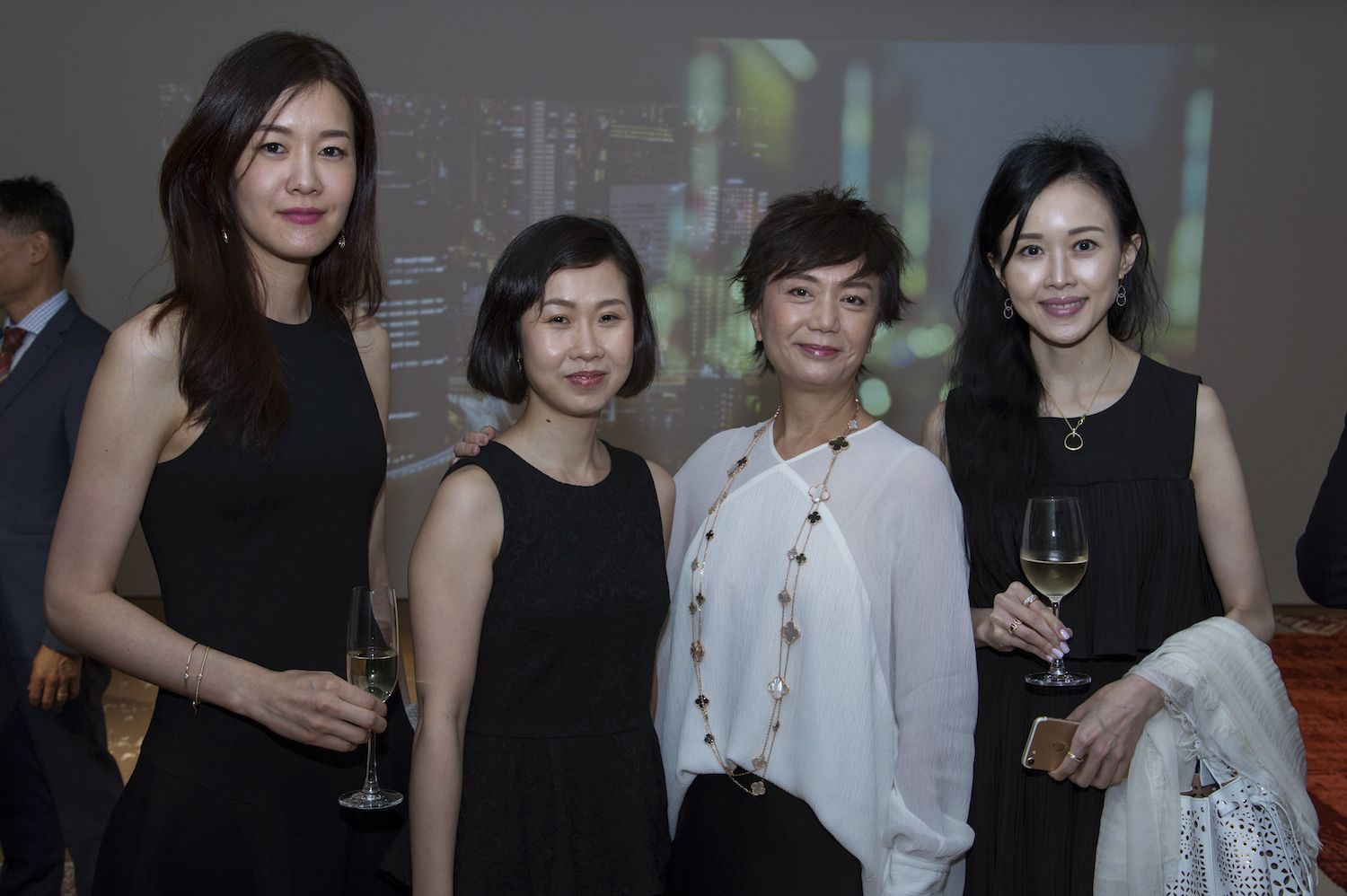 Jane Yoo, Bonnie Chan-Woo, Doreen Tong and Jacqueline Chow