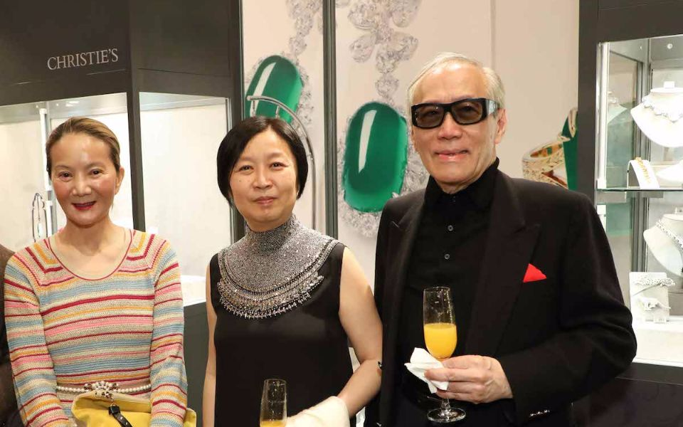 Reina Chau, Amy Chow and Chow Kwok-chuen