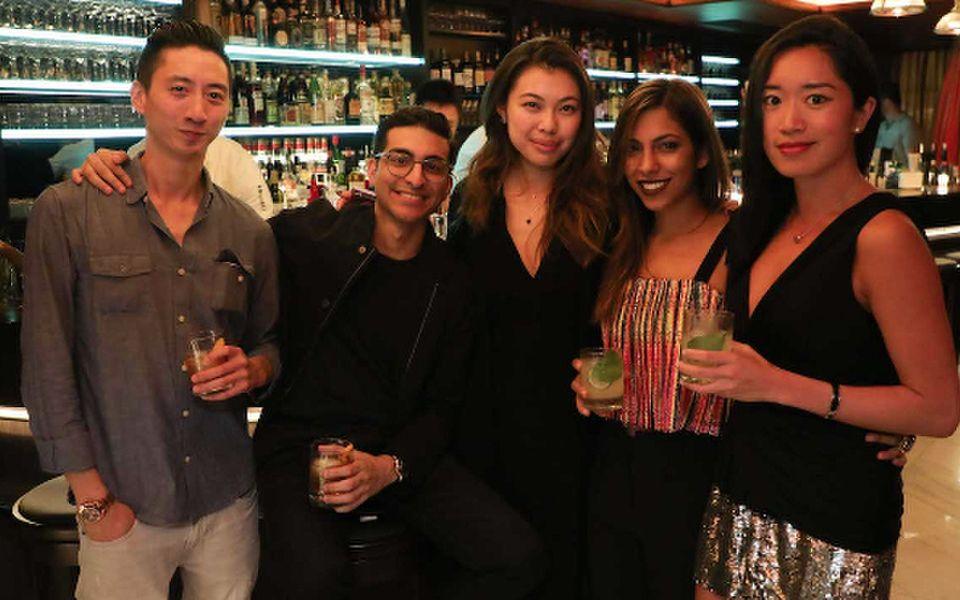 Arthur Law, Roni Hiranand, Kayla Wong, Nadia Harilela and Antonia Da Cruz