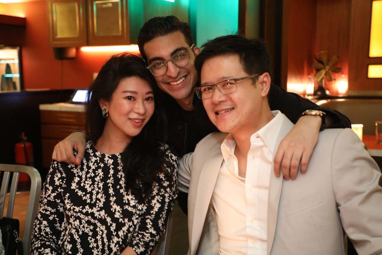 Christy Liang, Roni Hiranand and Benjamin Liang