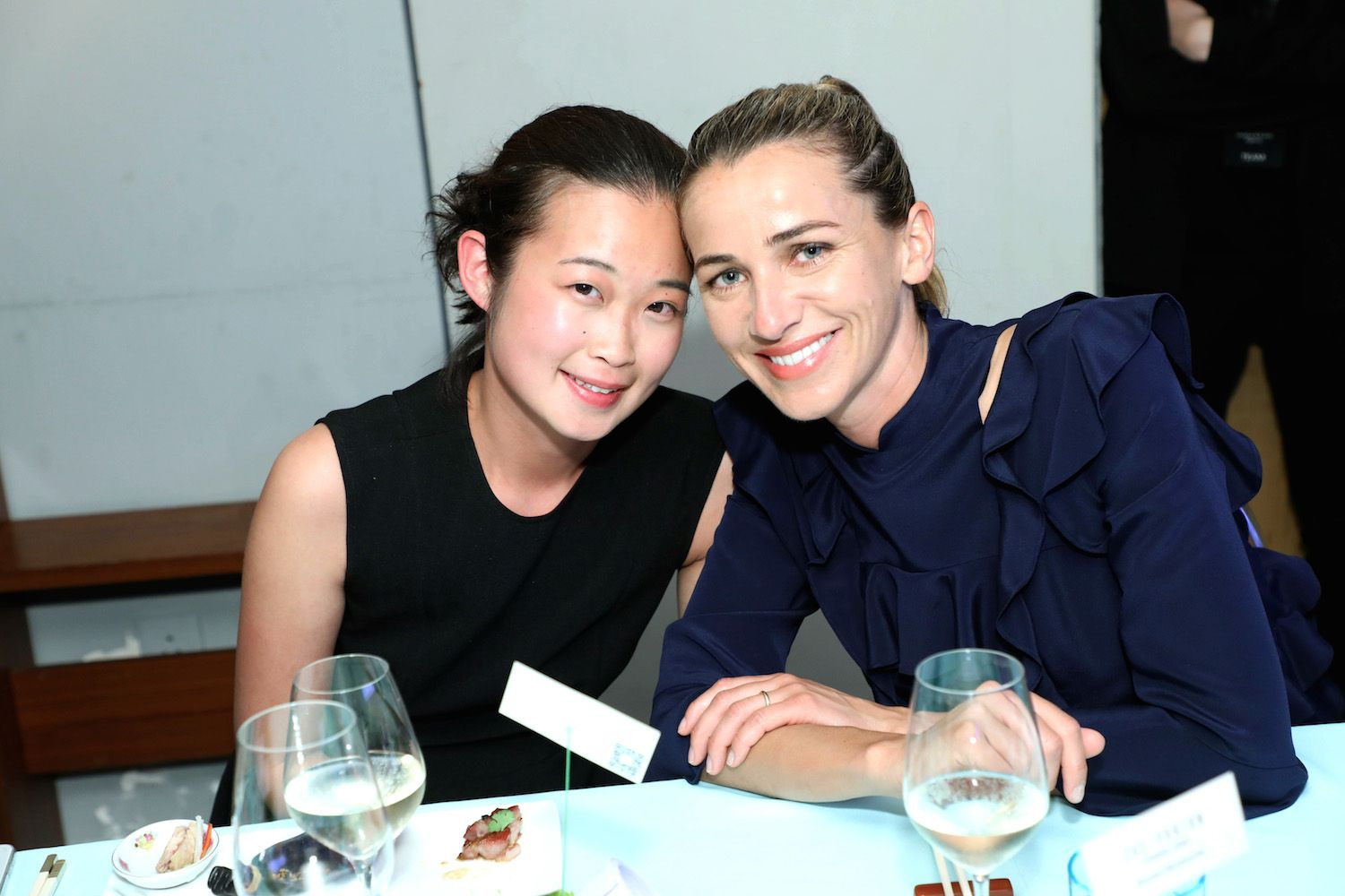 Cynthia Mak and Christina Dean