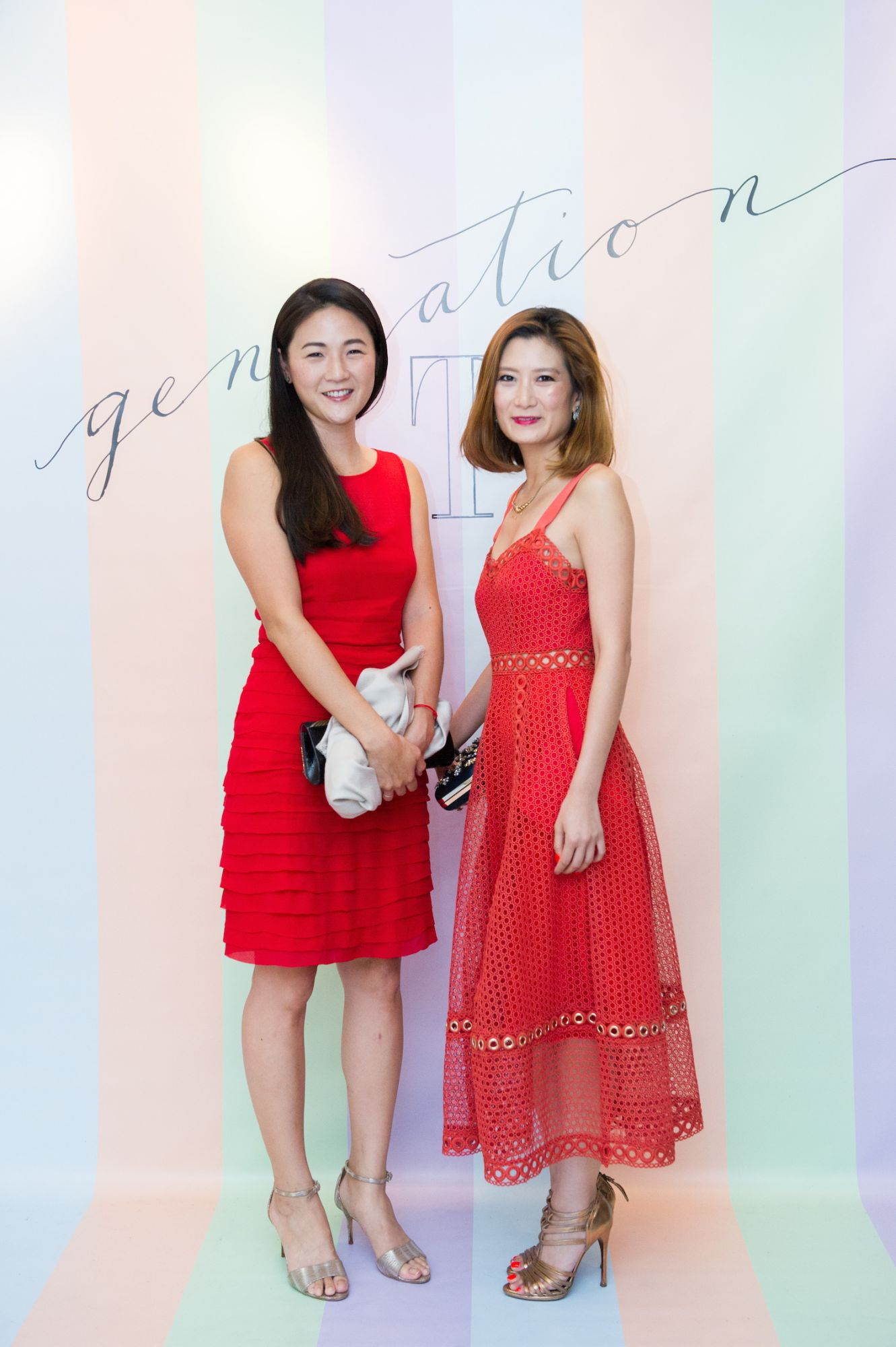 Nana Chan and Elaine Ng