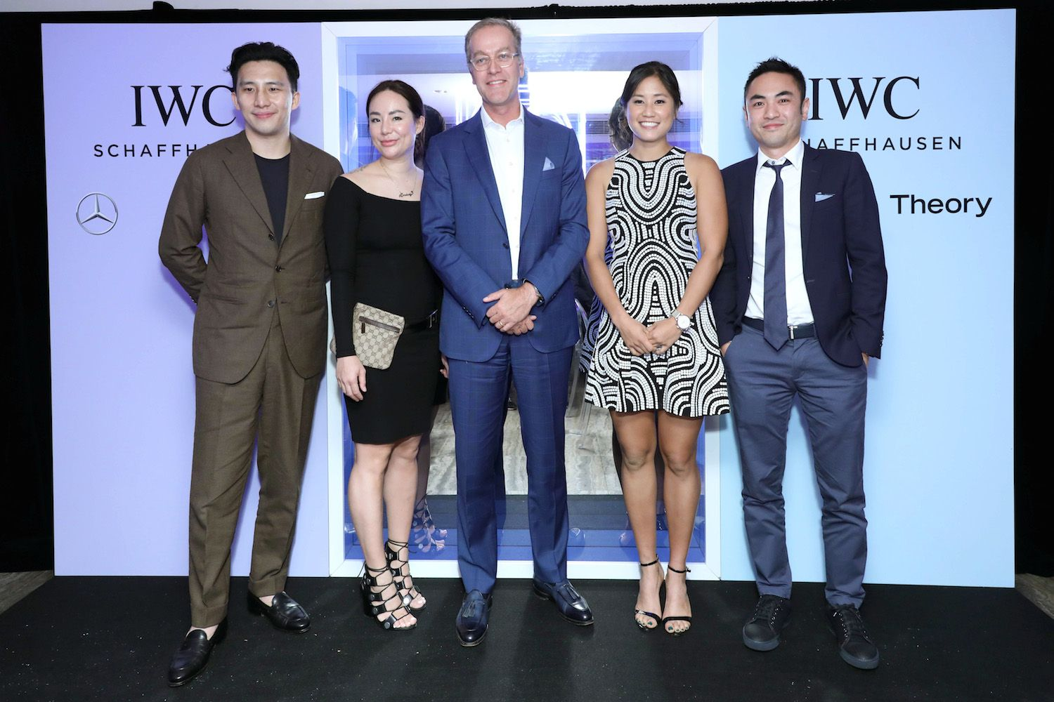 Wesley Ng, Lindsay Jang, Goris Verburg, Laurel Chor and Aaron Lee