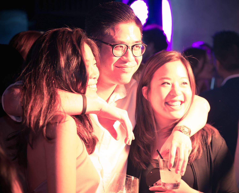 Charmaine Choi, Terence Mok and Theodora Liu