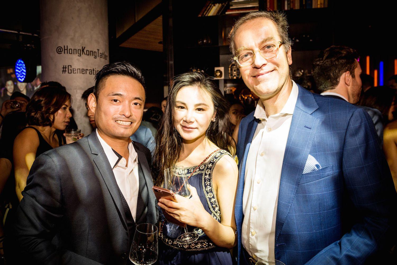 Arthur Lam, Leanna Xiong and Goris Verburg