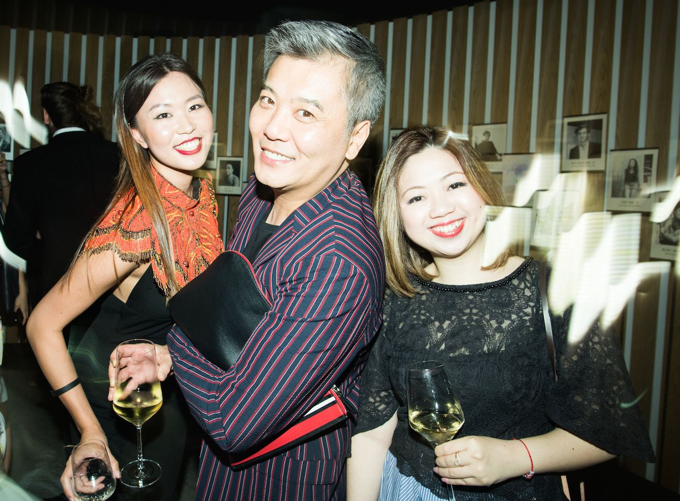 June Lau, Peter Cheung and Maggie Chan