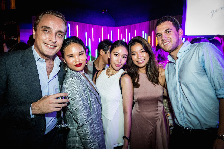 Maxime Castric, Natalya Xavier, Natalie Ho, Charmaine Choi and Max Haim