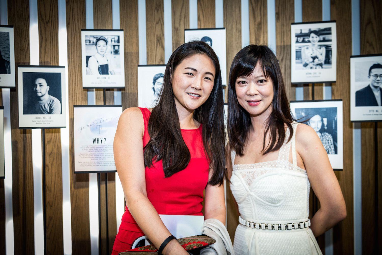 Nana Chan and Gina Wong