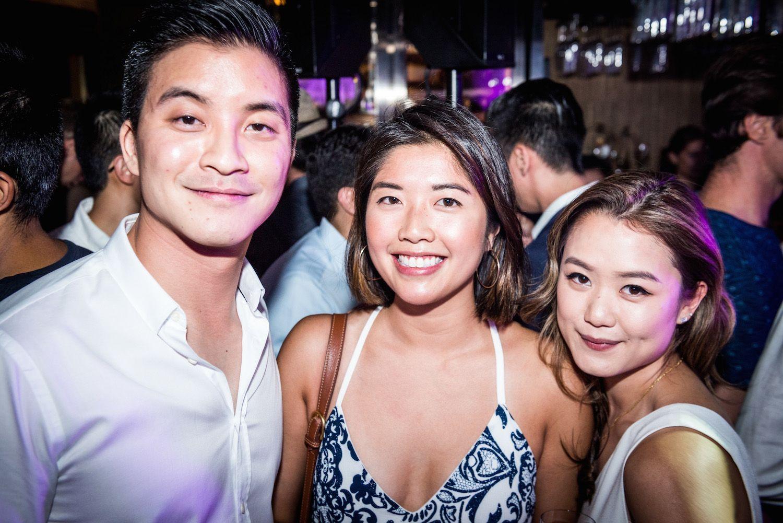 Nick Chu, Nikki Chan and Pearl Shek