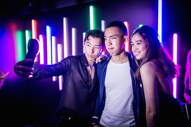 Nick Lo, Justin Cheung and Nicole Wong
