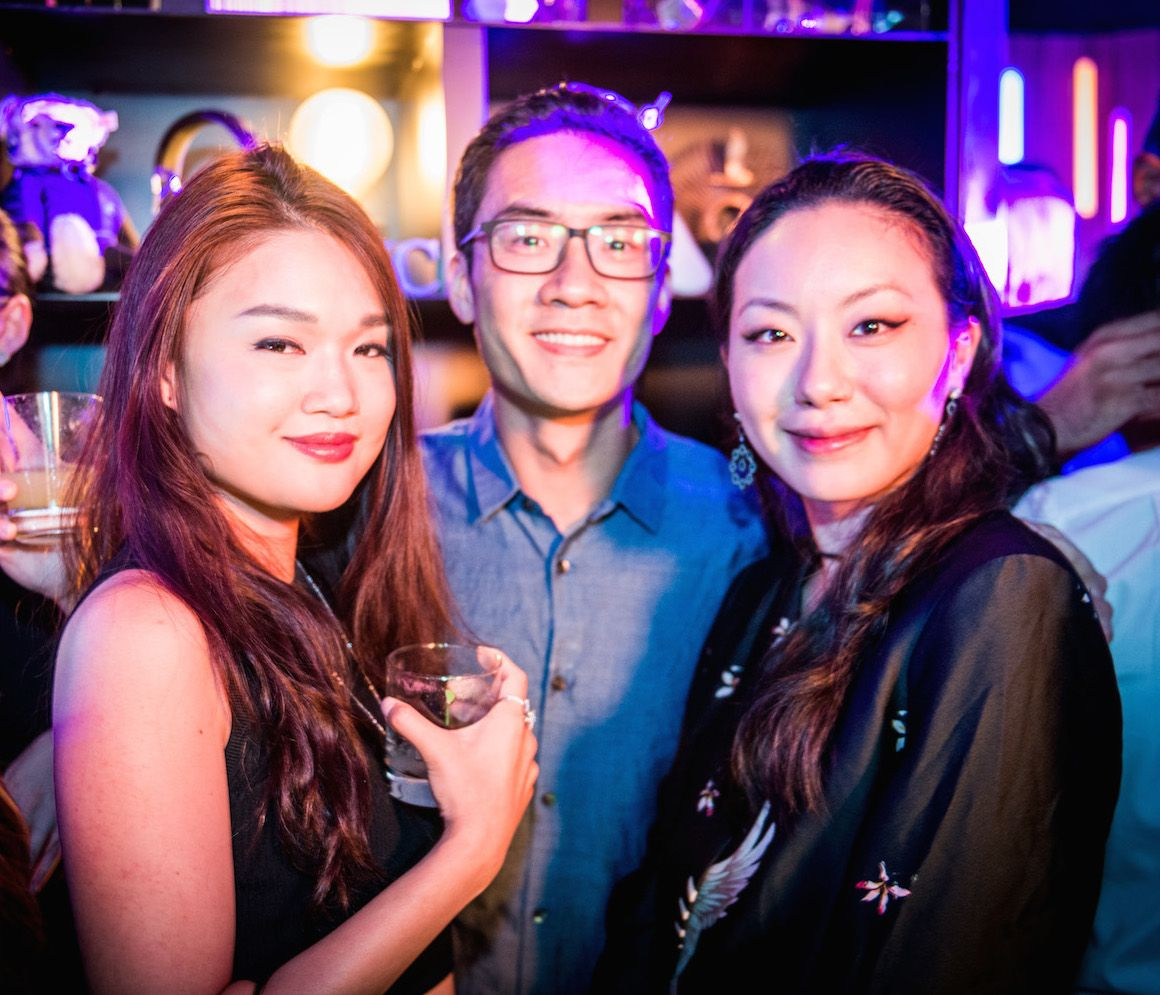 Queenie Rosita Law, Kevin Hui and Ruth Chao