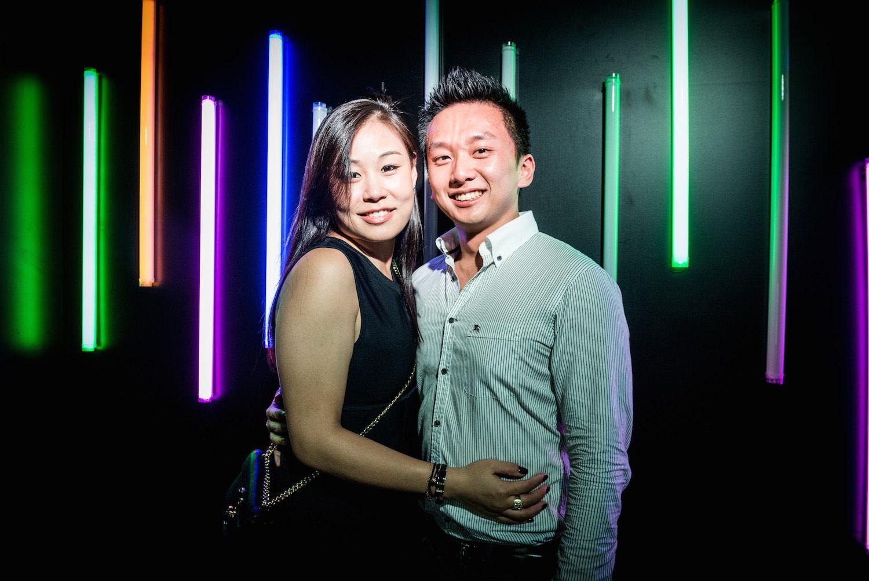 Sarah Ann Fung and Julius Chau
