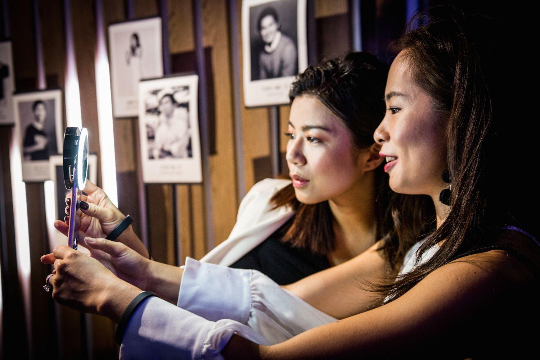 Tina Chan and Jessica Yeung