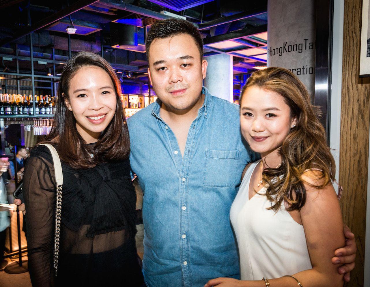 Vickie Li, Jonathan Kwok and Pearl Shek