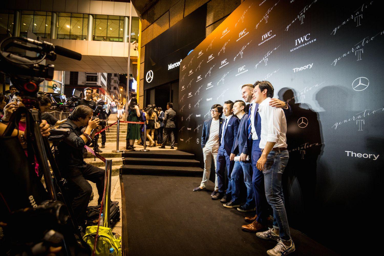 Nicholas Ho, Aaron Lee, Danny Yeung, Peter Larko and Joel Neoh