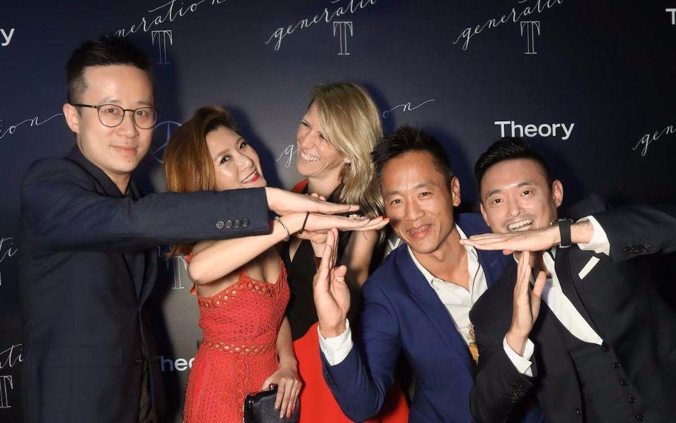 Otto Ng, Elaine Ng, Cristina Ventura, Albert Lin and Arthur Lam