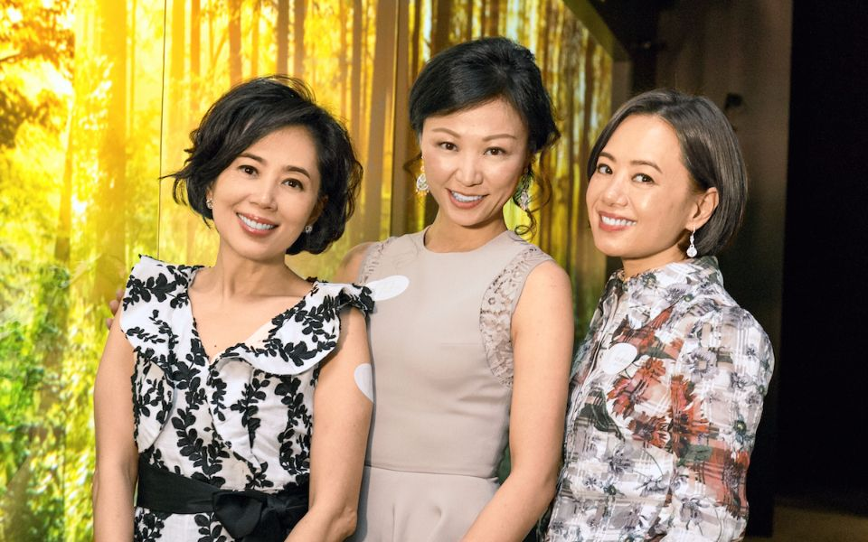 Cindy Yeung-Cheung, Michelle Cheng-Chan and Daisy Yeung