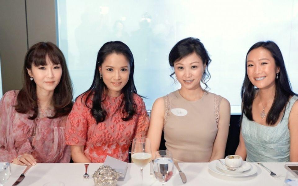 Helena Pong, Reggie Kwok, Michelle Cheng-Chan and Chelsea Chau-Kuok