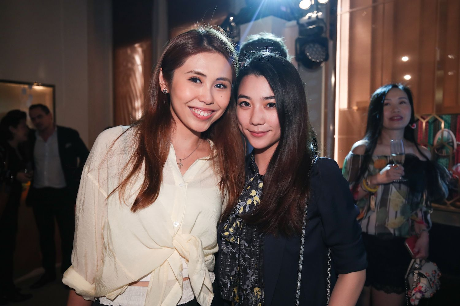 Elizabeth Li and Vincy Yeung