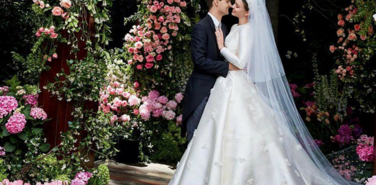 The Most Iconic Celebrity Wedding Gowns With Links To Dior ...